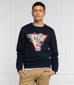 Czarna bluza Guess w młodzieżowym stylu