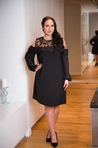 e40e72b6cc0d eleganckie sukienki wizytowe dla puszystych. - stylowo i modnie z Allani