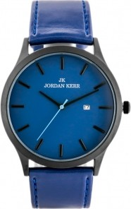 ZEGAREK MĘSKI JORDAN KERR - L1011 Niebieski | Czarny
