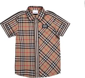 Koszula dziecięca Burberry dla chłopców w krateczkę