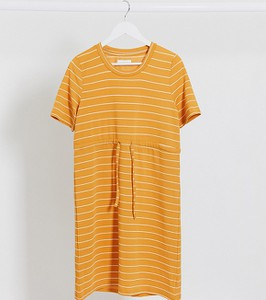 Pomarańczowa sukienka Mama Licious mini