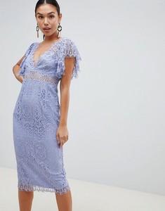 Sukienka Asos Design z dekoltem w kształcie litery v ołówkowa