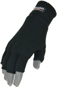 Czarne rękawiczki Highlander