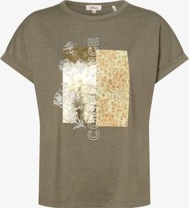 Bluzka S.Oliver z okrągłym dekoltem