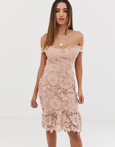 Różowa sukienka Missguided