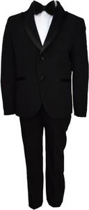 Czarny garnitur Luciano Soprani