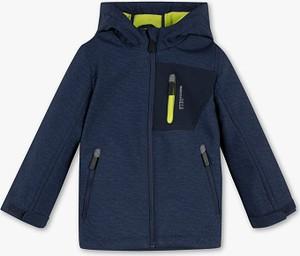 Niebieska kurtka dziecięca Palomino z plaru