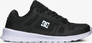 Czarne buty sportowe DC Shoes sznurowane