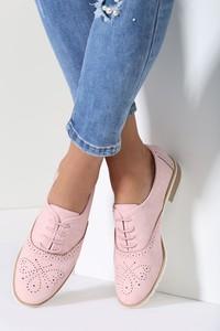 Renee różowe półbuty andora