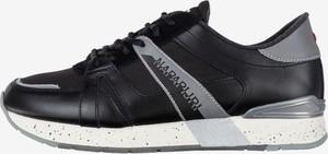 Buty sportowe Napapijri ze skóry sznurowane
