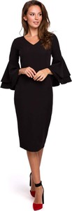 Sukienka Makeover midi z bawełny