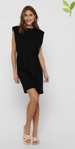 Czarna sukienka Only z bawełny