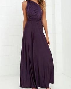 Fioletowa sukienka Kendallme