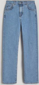 Niebieskie jeansy Reserved z jeansu w młodzieżowym stylu