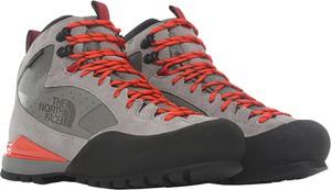 Buty trekkingowe The North Face z zamszu sznurowane