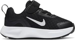 Czarne buty sportowe dziecięce Nike dla chłopców sznurowane