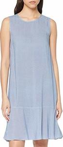 Sukienka amazon.de mini z okrągłym dekoltem bez rękawów