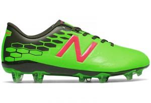 Zielone buty sportowe dziecięce New Balance sznurowane