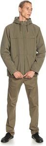 Zielona kurtka Quicksilver krótka