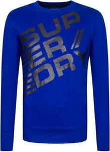 Bluza Superdry w młodzieżowym stylu z nadrukiem