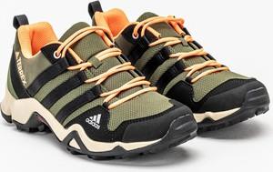 Buty trekkingowe Adidas sznurowane z tkaniny