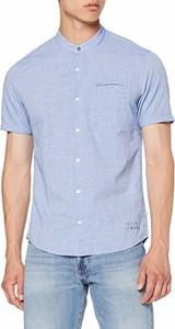 Koszula amazon.de z krótkim rękawem ze stójką