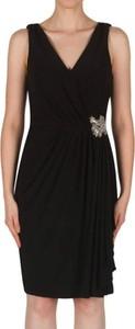 Sukienka Joseph Ribkoff z dekoltem w kształcie litery v bez rękawów