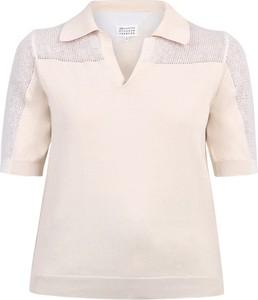 Bluzka Maison Margiela z bawełny