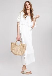 Sukienka Renee z okrągłym dekoltem w stylu boho maxi