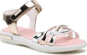 Różowe buty dziecięce letnie Pablosky na rzepy