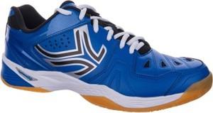 Niebieskie buty sportowe Artengo w sportowym stylu
