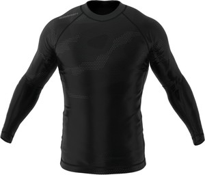 Czarna koszulka z długim rękawem Smmash