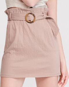Różowa spódnica Reserved w stylu casual mini