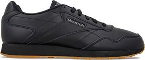 Buty sportowe Reebok w street stylu ze skóry sznurowane