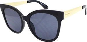 Czarne okulary damskie Hammer