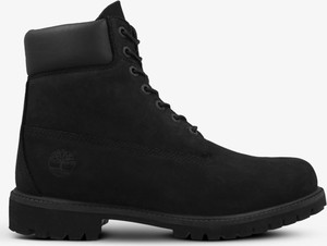 Czarne buty zimowe Timberland sznurowane