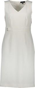 Sukienka Daniel Hechter bez rękawów z dekoltem w kształcie litery v midi