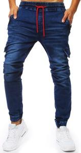Niebieskie spodnie Dstreet