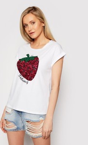 T-shirt Liu-Jo z nadrukiem z krótkim rękawem