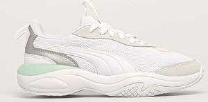 Sneakersy Puma sznurowane na platformie