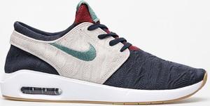 Buty sportowe Nike ze skóry sznurowane sb