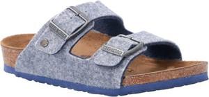 Buty dziecięce letnie Birkenstock z klamrami ze skóry