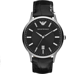 Zegarek EMPORIO ARMANI - Renato AR2411 Black/Steel