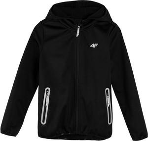 Czarna kurtka dziecięca 4F dla chłopców