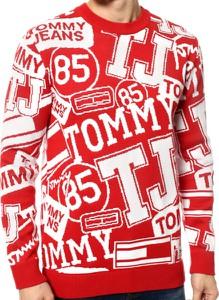 Sweter Tommy Hilfiger z bawełny w młodzieżowym stylu