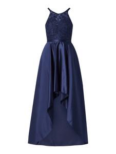 Granatowa sukienka Forever Unique z tiulu