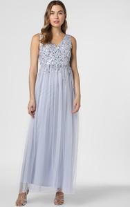 Sukienka Lipsy bez rękawów z dekoltem w kształcie litery v rozkloszowana