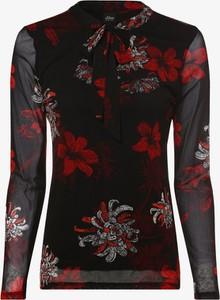 Bluzka S.Oliver Black Label ze sznurowanym dekoltem z długim rękawem