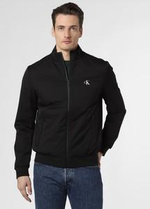 Czarna kurtka Calvin Klein w stylu casual krótka