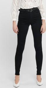 Czarne jeansy WARESHOP w stylu casual